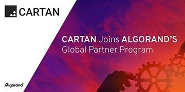 Cartan Group Selected to Join Algorand Partner Program